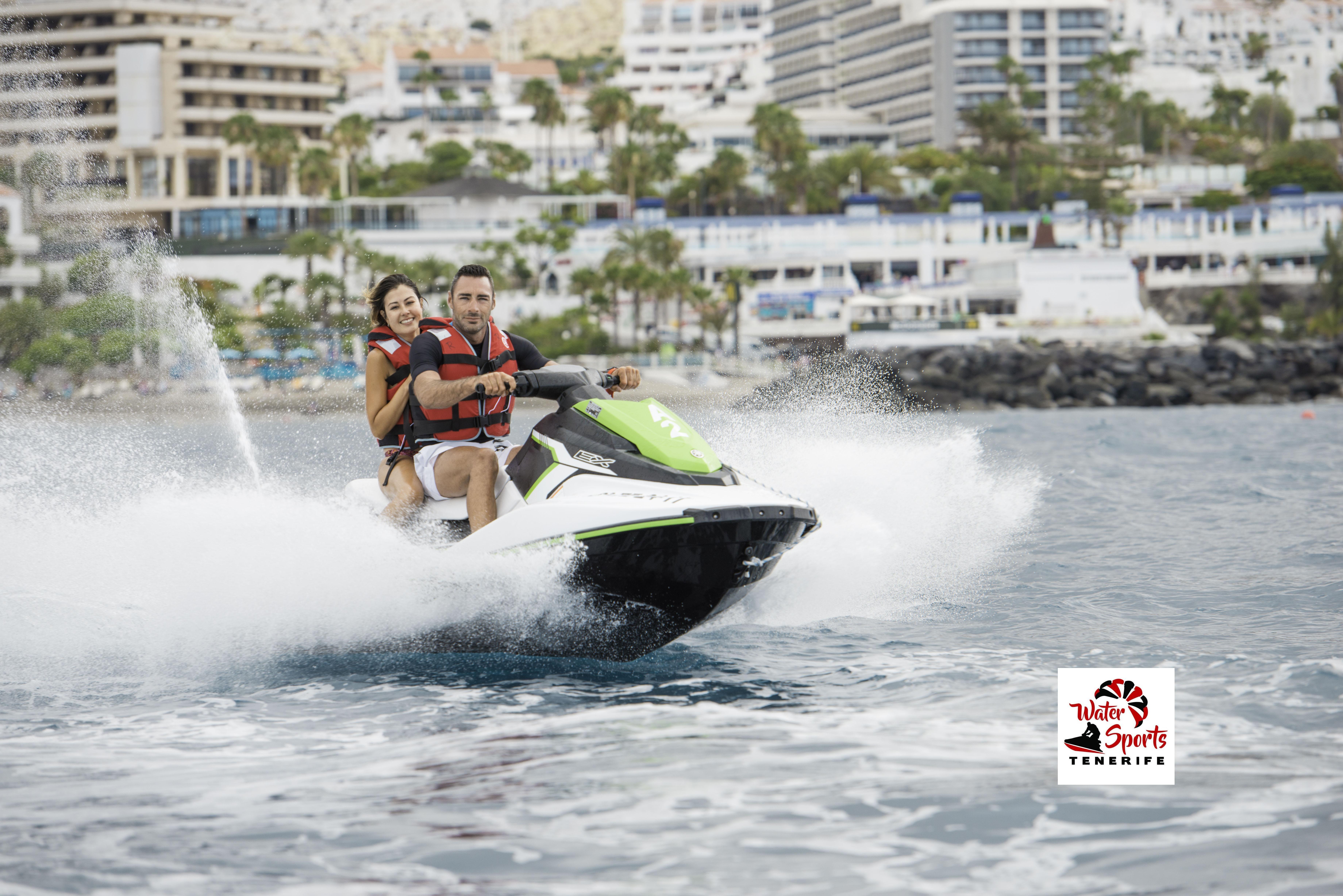 jet ski safari rent jet ski en costa adeje puerto colon