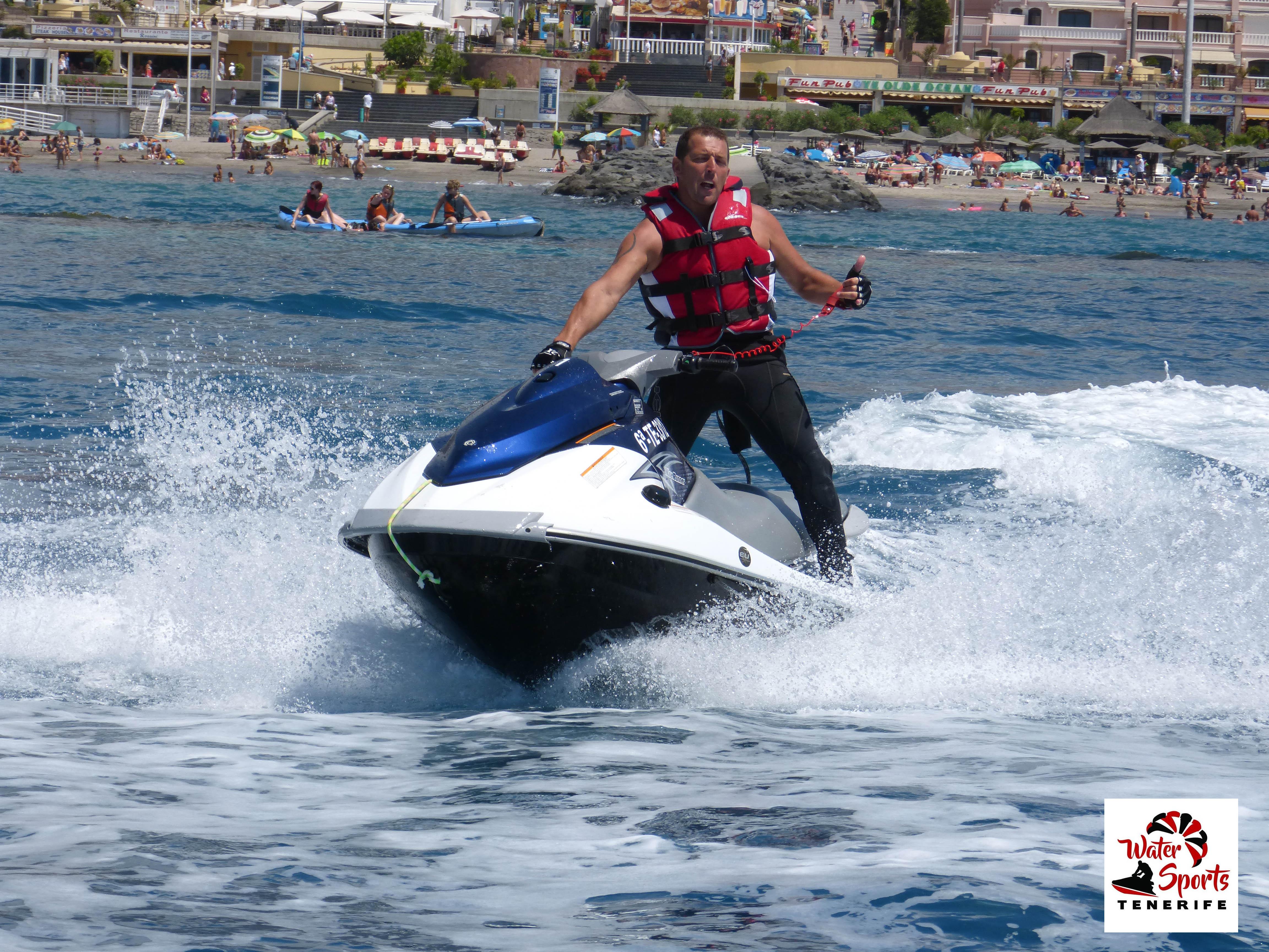 jet ski safari rent jet ski en tenerife sur islas canarias los cristianos las americas