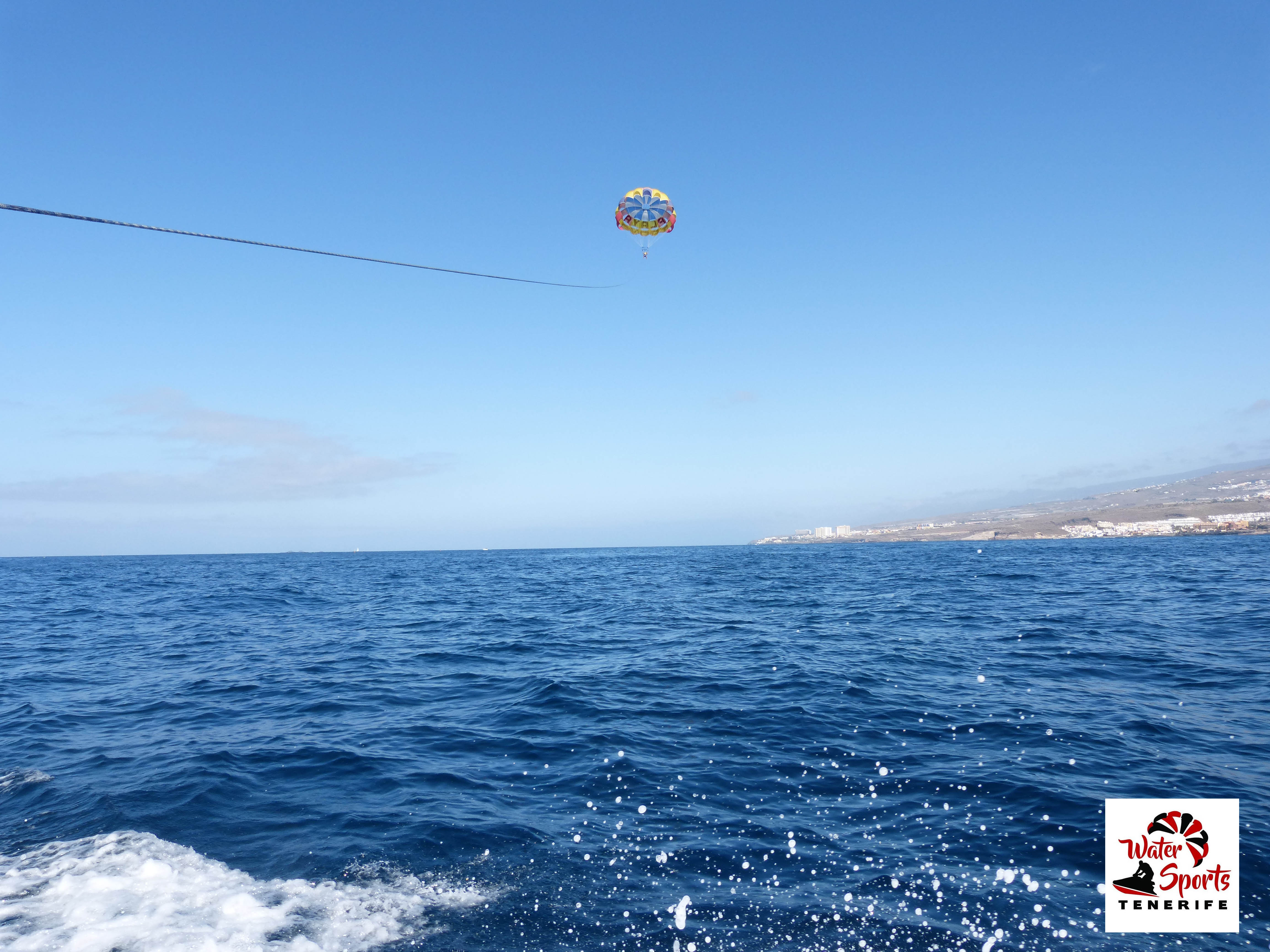 paracaidismo watersport el medano