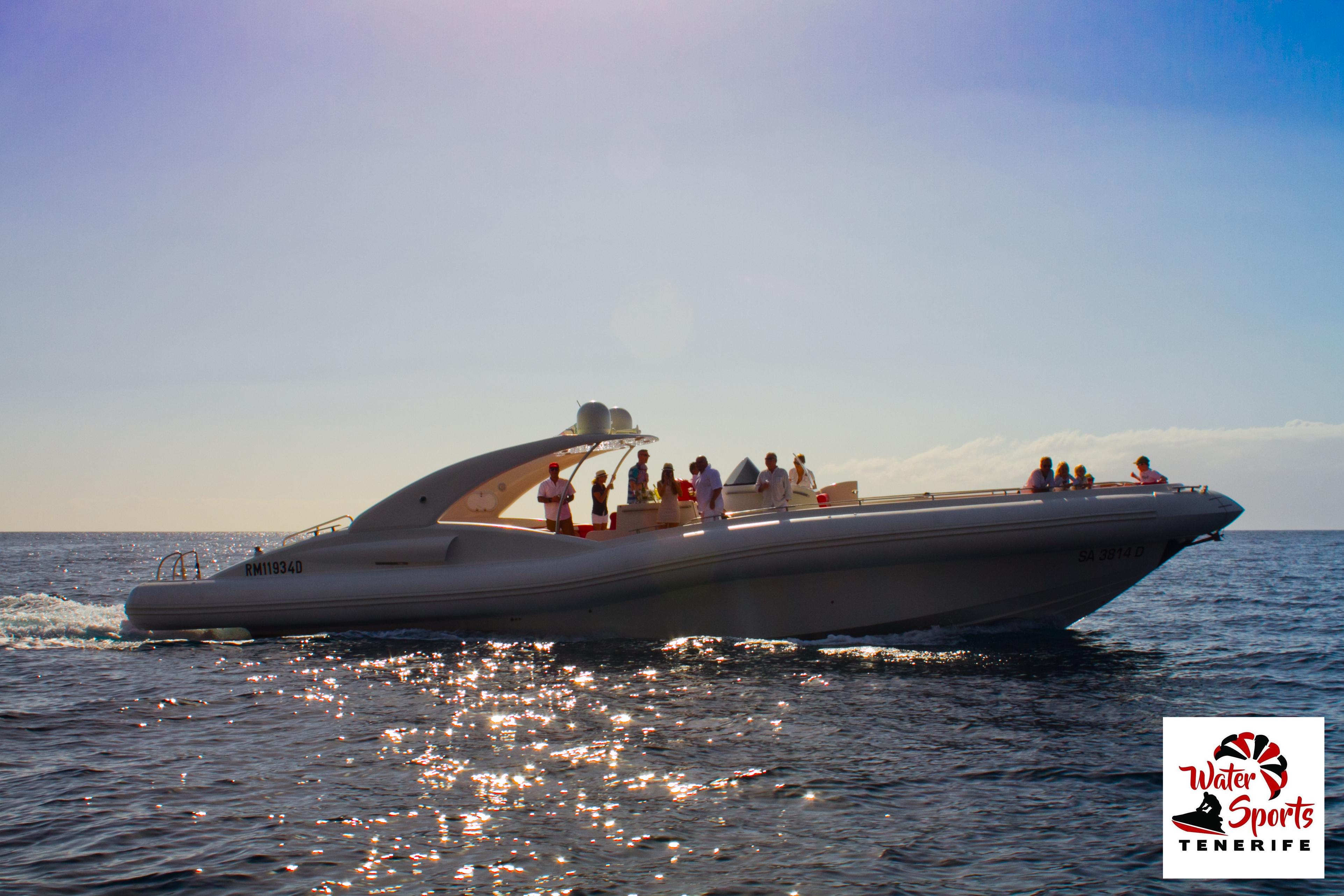 sea riders excursion lanchas rapidas en costa adeje puerto colon