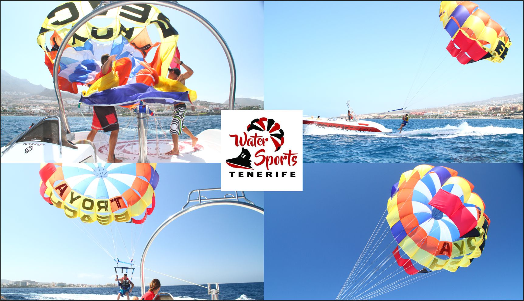 water sports tenerife islas canarias watersport en costa adeje puerto colon