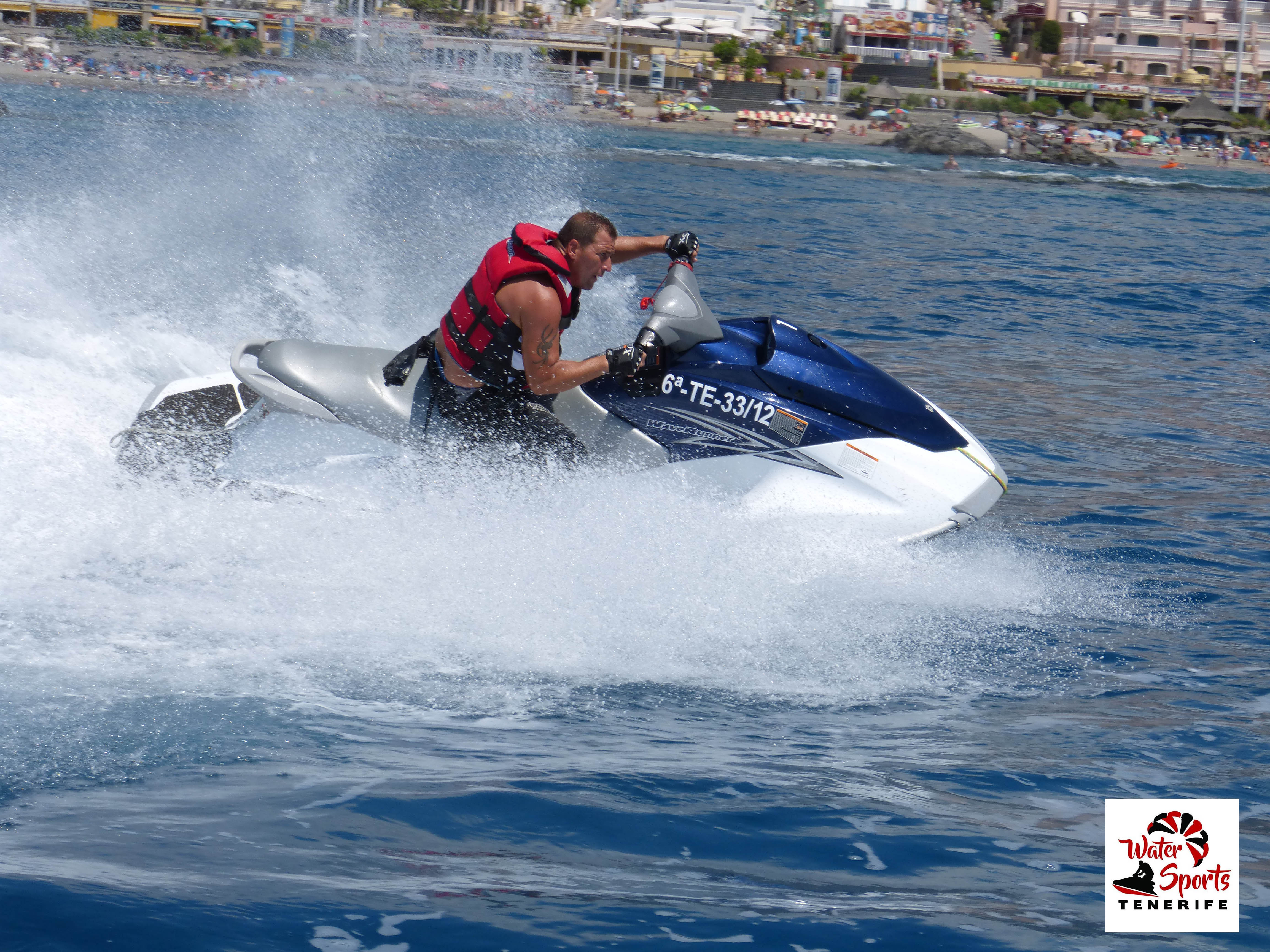 watersport motos de agua adeje