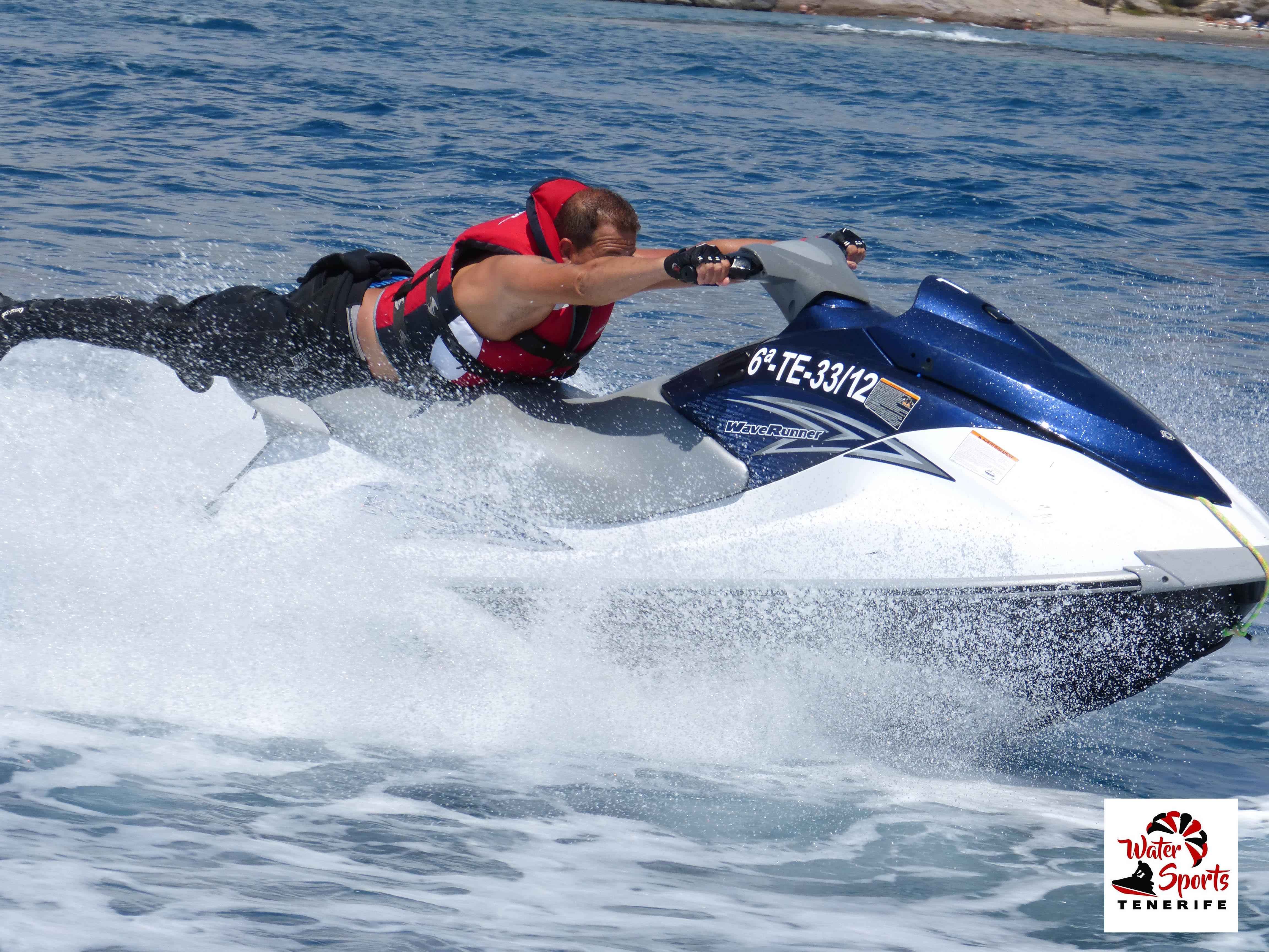 jet ski safari noleggio moto d'acqua isole canarie tenerife los cristianos las americas