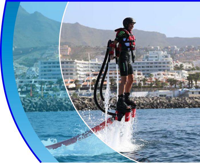 flyboard tenerife water sports puerto colon adeje