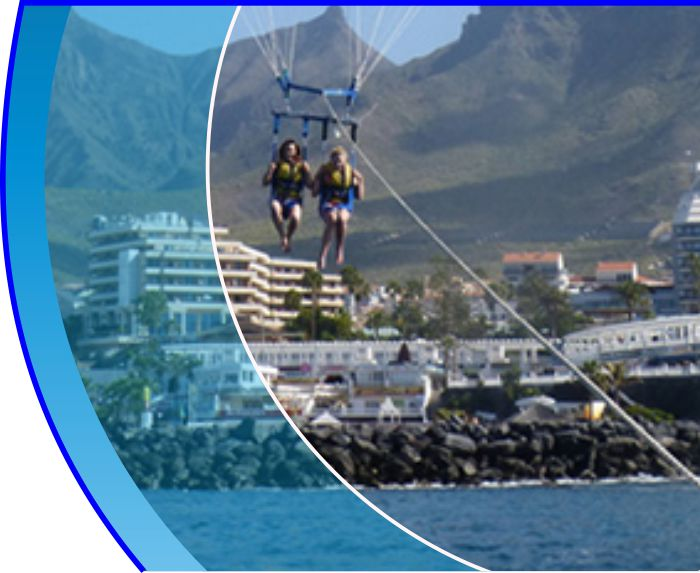 parascending tenerife water sports puerto colon