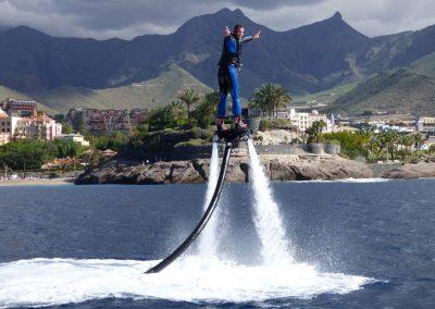 water sports los cristianos adeje y arona