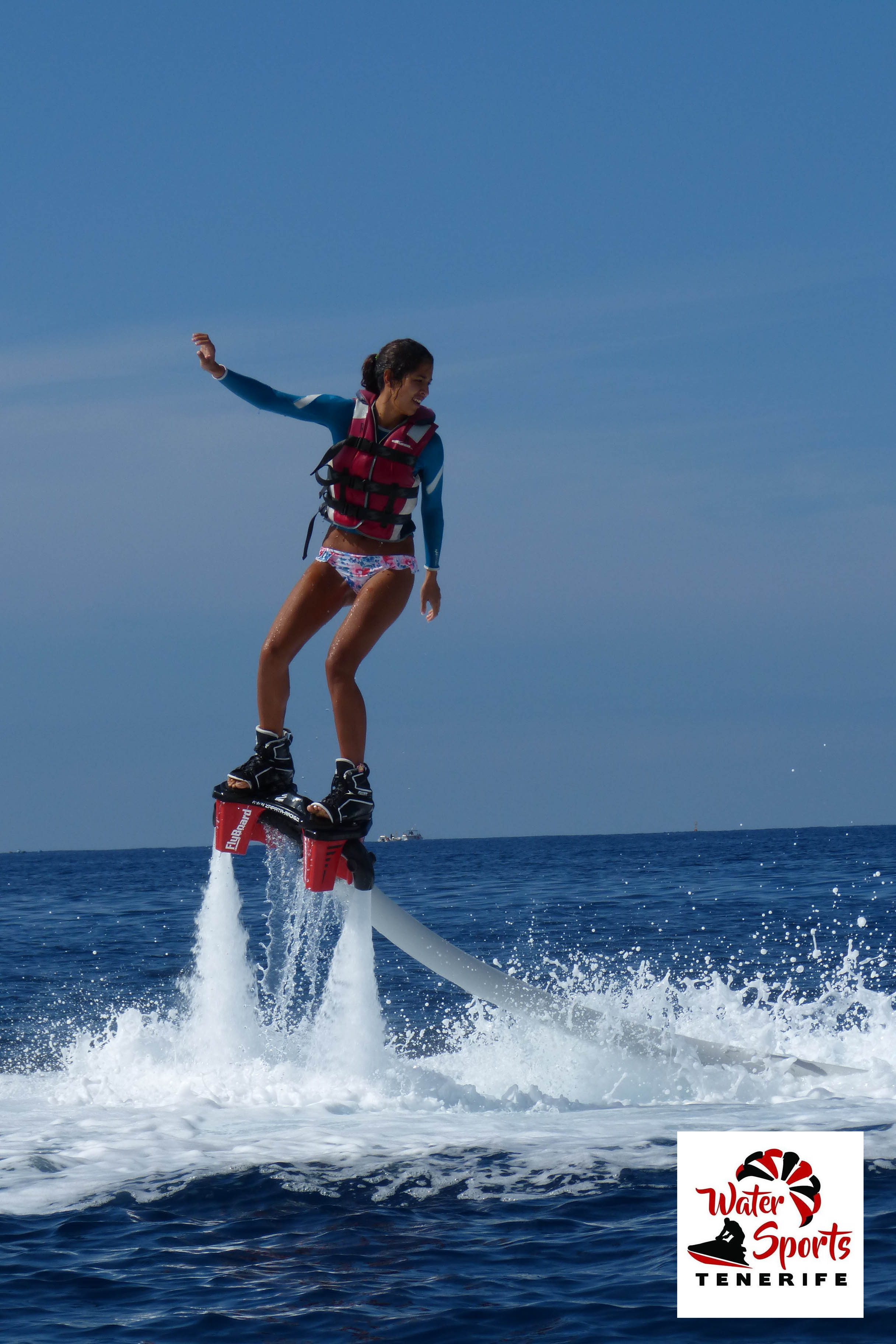 flyboard watersport el medano