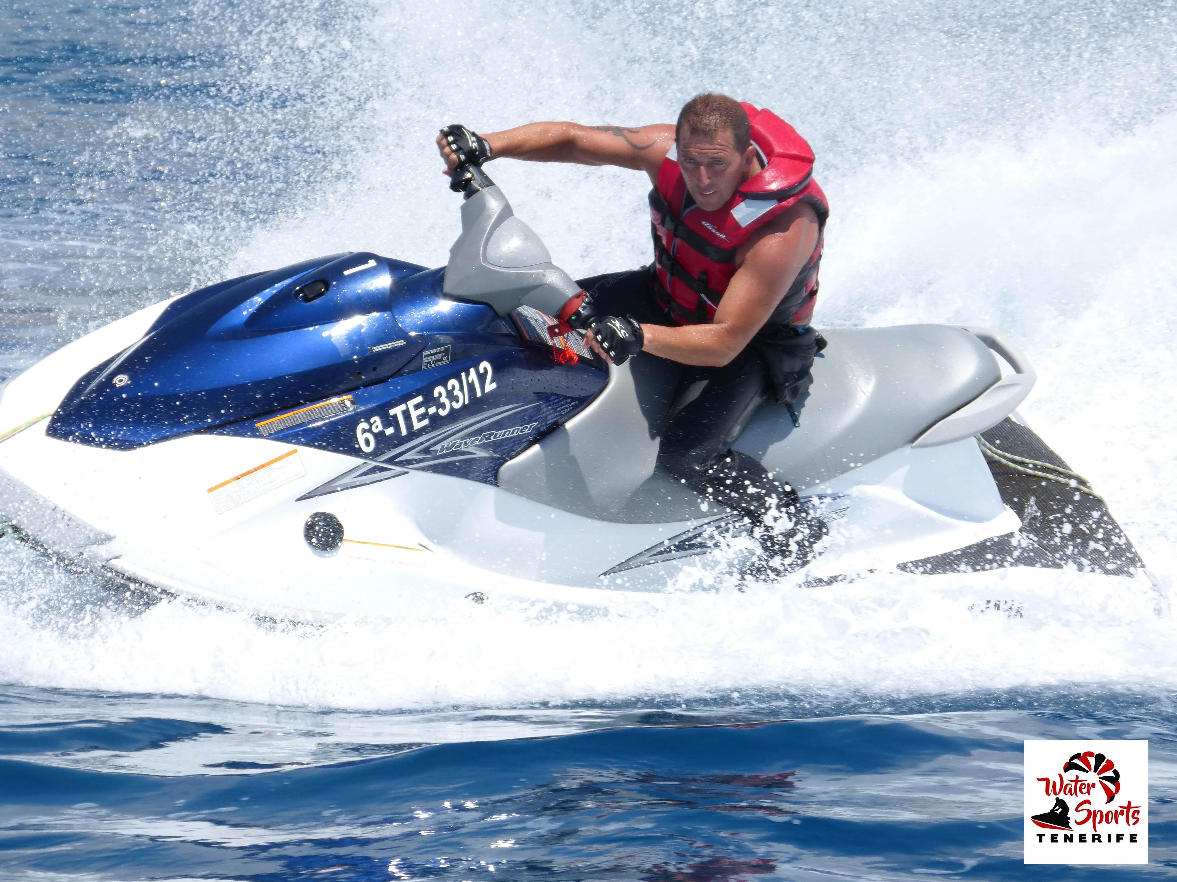 jet ski safari rent jet ski en tenerife sur los cristianos islas canarias las americas