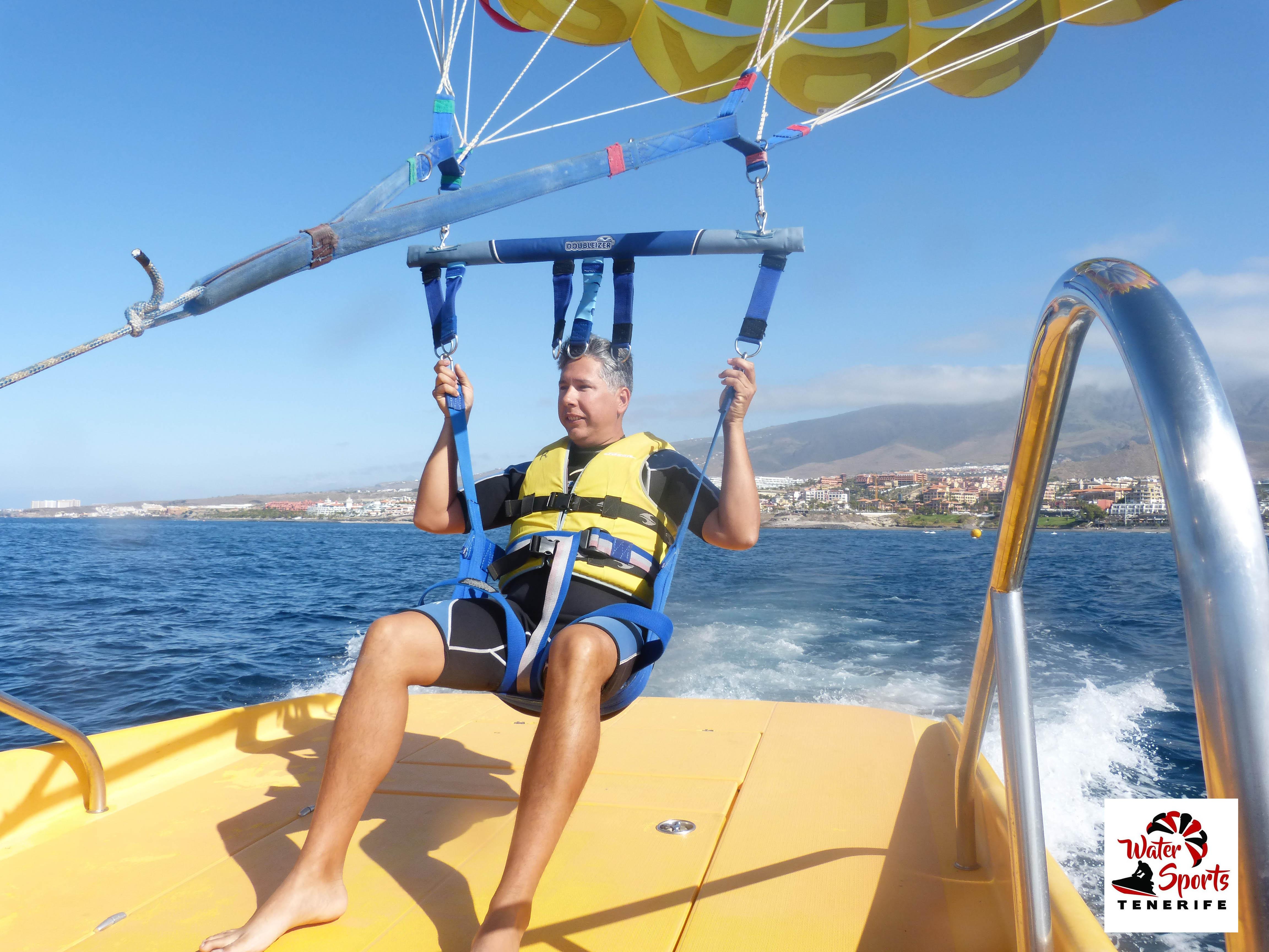 paracaidismo watersport tenerife sur