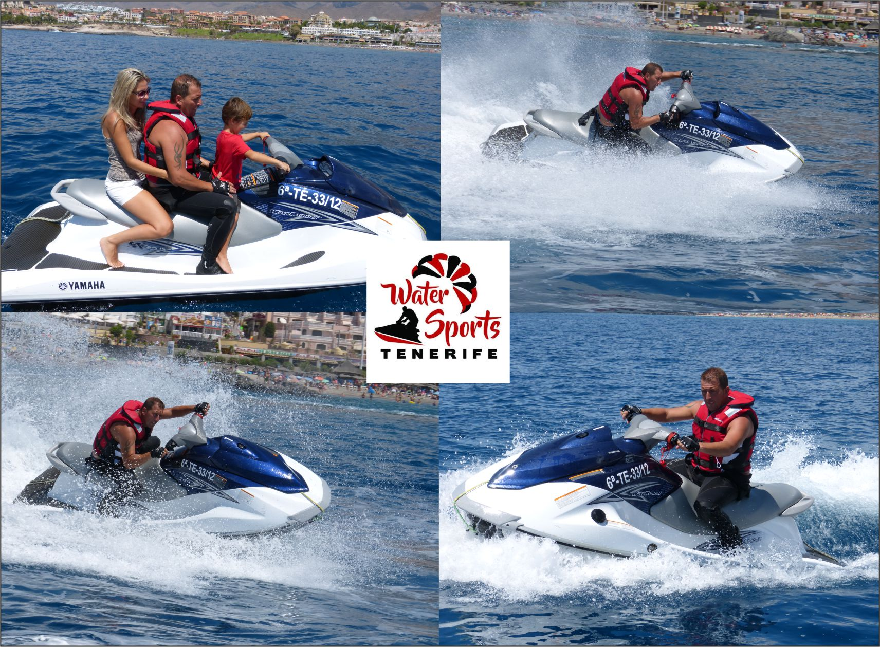 water sports tenerife islas canarias watersport en arona adeje