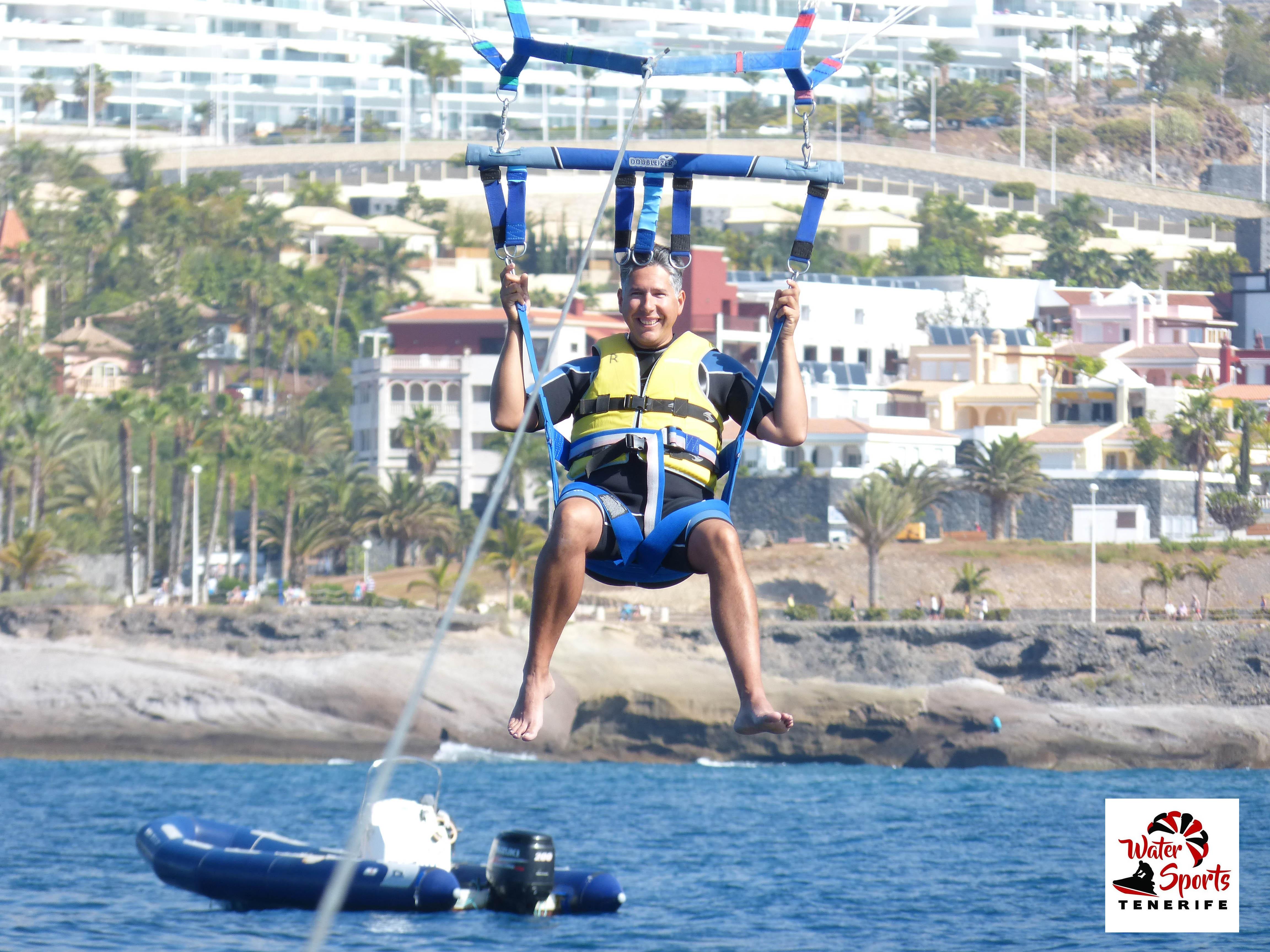 watersport paracaidismo adeje
