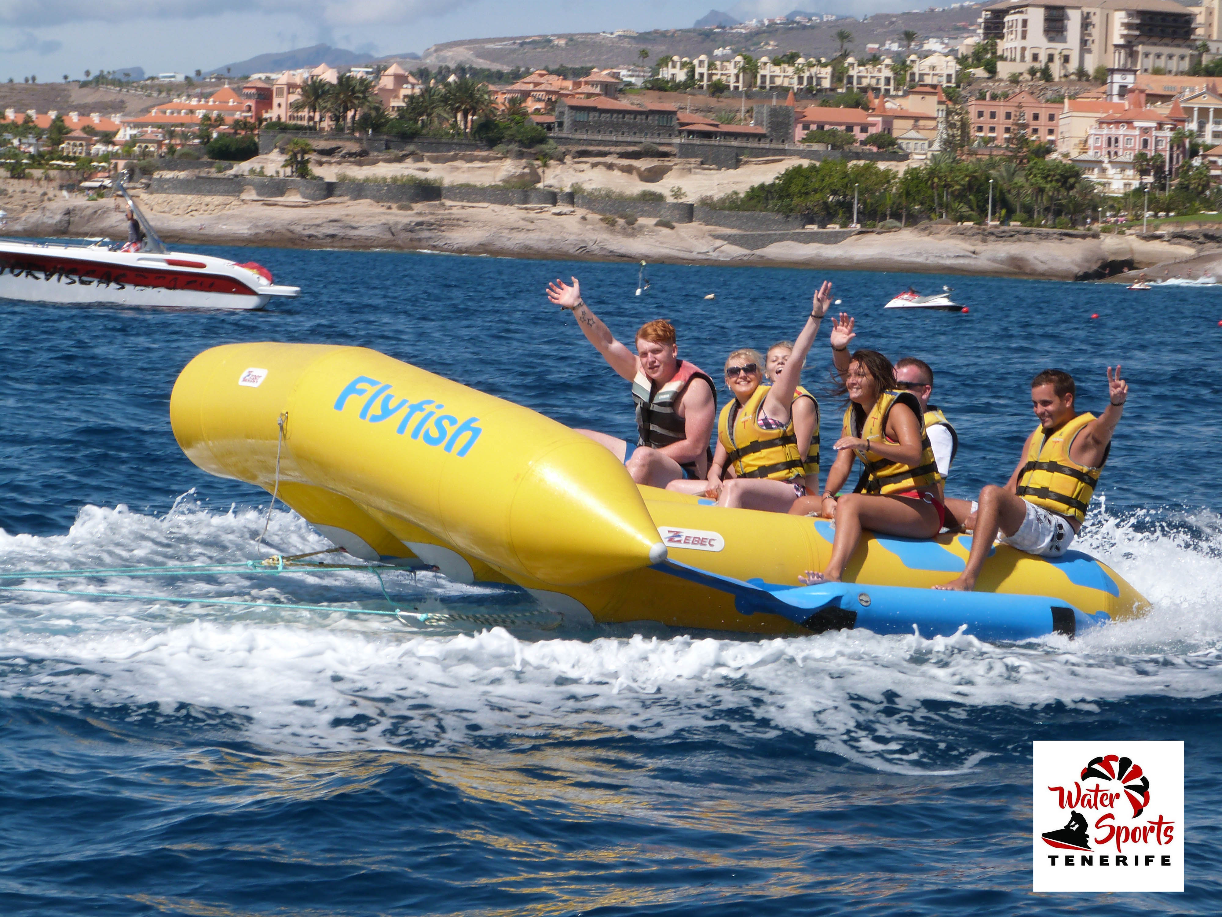 flyfish water sports and activities in fañabe in el medano