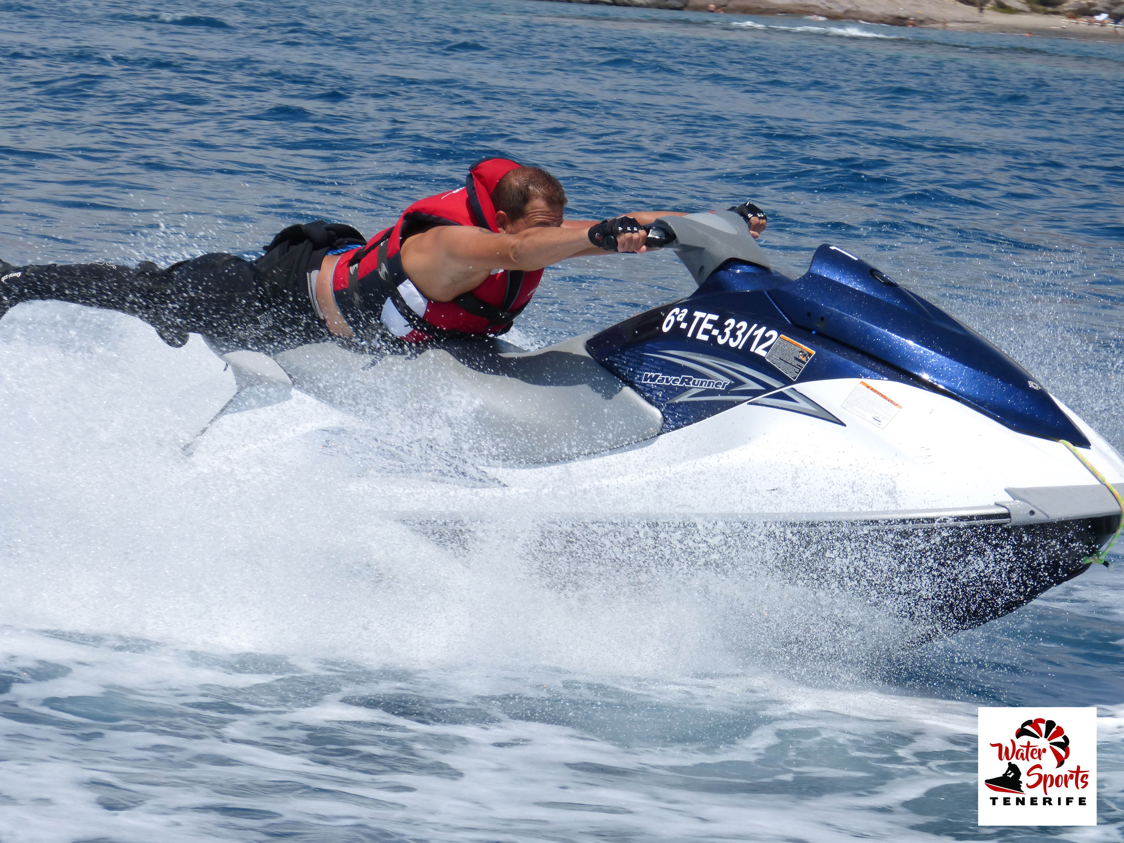jet ski safari rent jet ski in canary islands south tenerife los cristianos las americas
