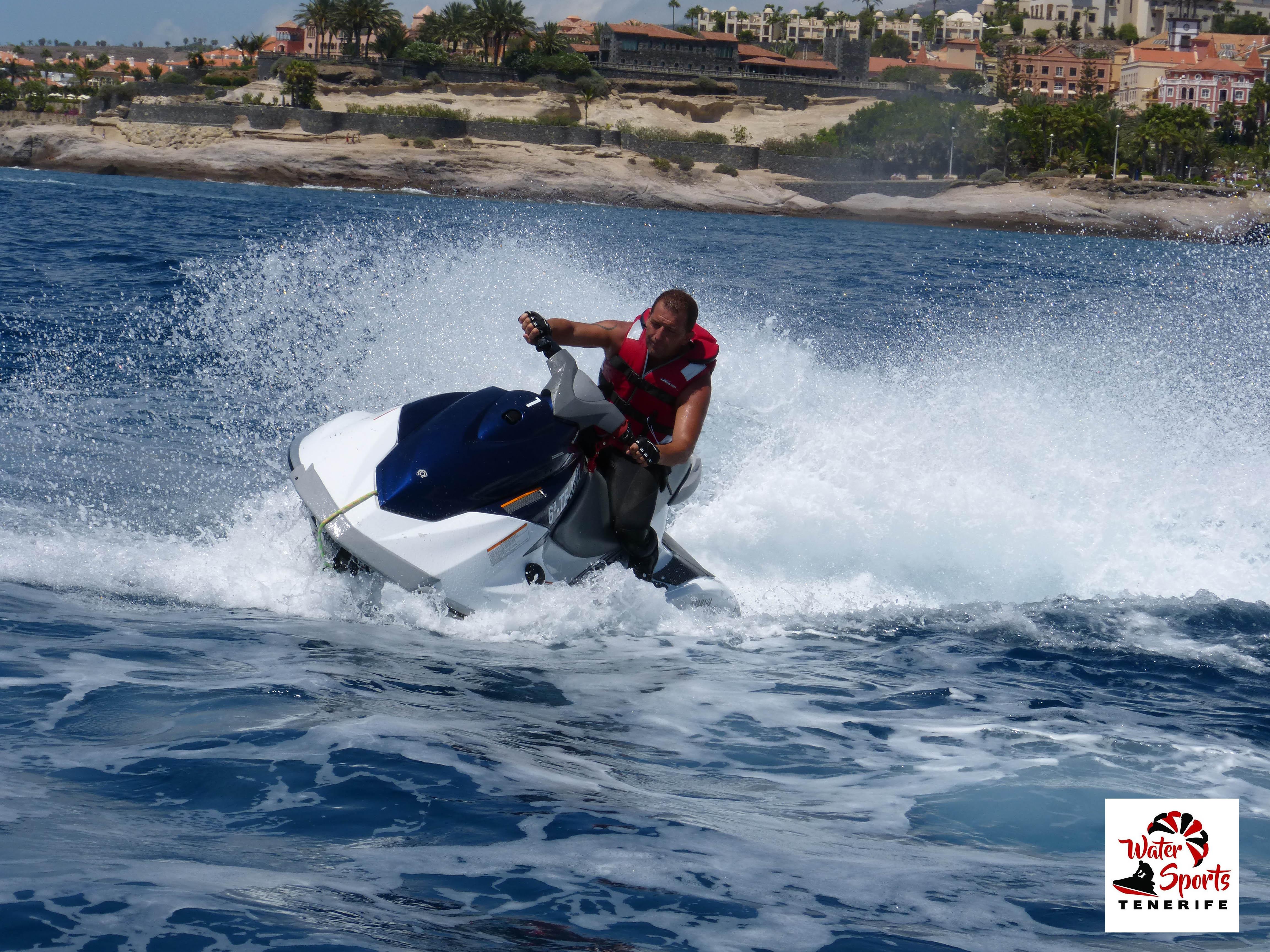 noleggio moto d'acqua jet ski moto d'acqua jet bike costa adeje puerto colon