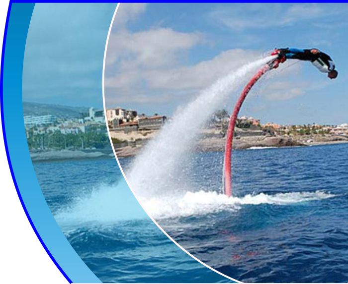 flyboard tenerife water sports puerto colon adeje 2