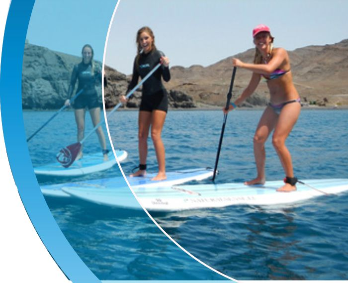 paddle tenerife water sports puerto colon adeje 2