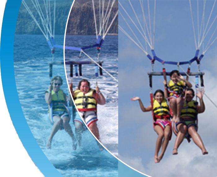 parascending tenerife water sports puerto colon 2