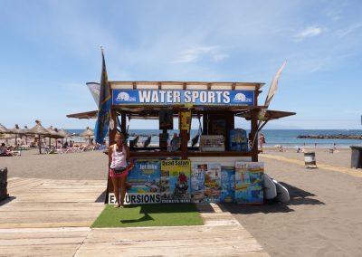 water sports los cristianos adeje santa cru